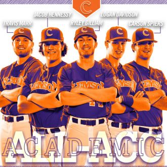 Five Named All-ACC Academic