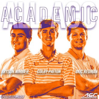 Three Clemson Men Named Academic All-ACC