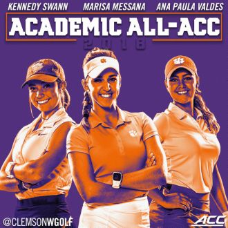 Messana, Valdes and Swann Named Academic All-ACC