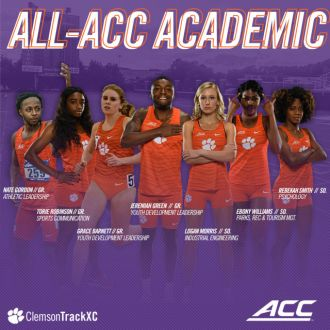 Seven Tigers Garner All-ACC Academic Honors
