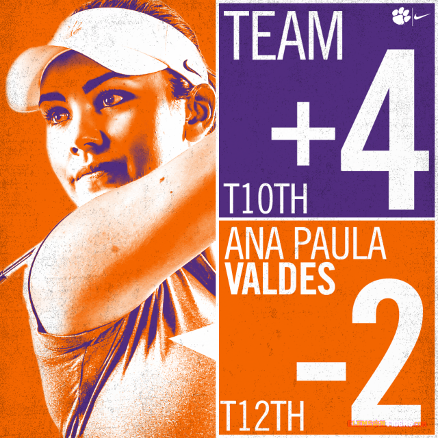 Valdes Leads Clemson with 70 at Mason Rudolph Championship