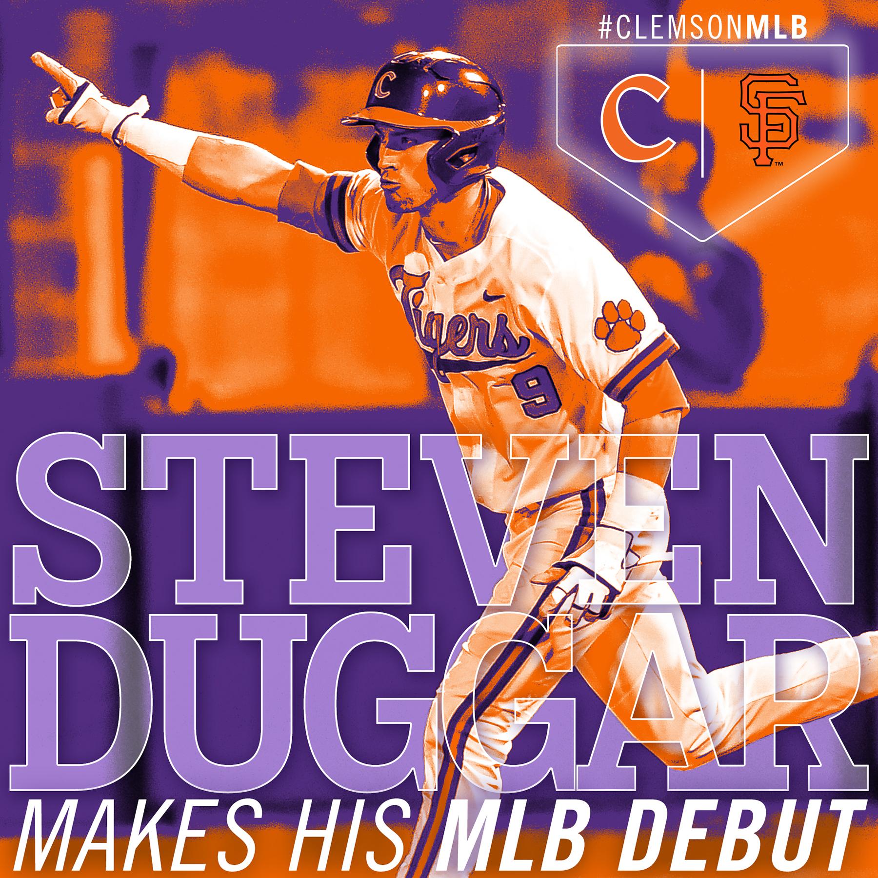 Duggar Makes MLB Debut