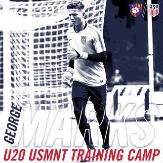 Marks Heads to U20 USMNT Training Camp