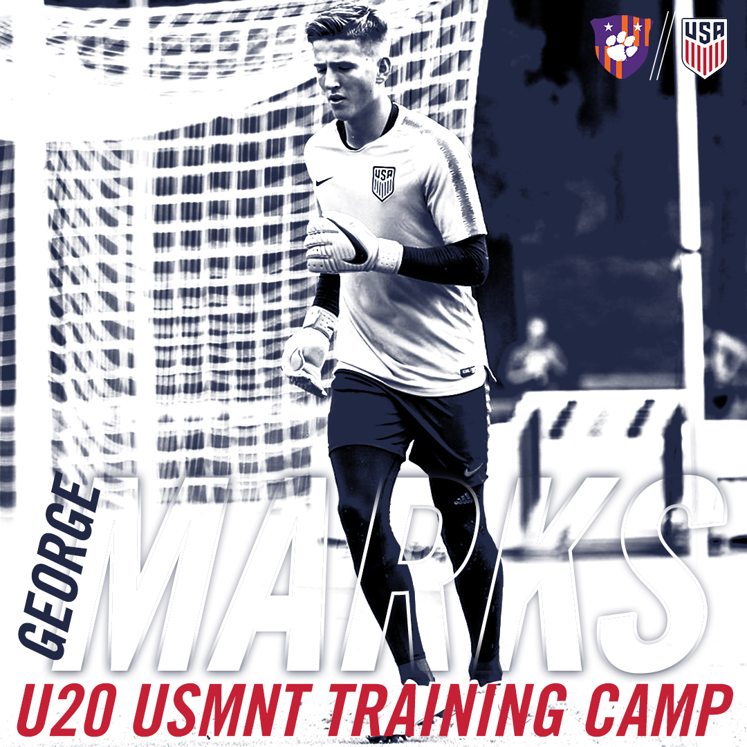 Marks Heads to U20 USMNT Training Camp