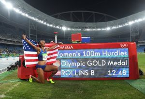 Two-Year Anniversary: Brianna Rollins Wins Gold in Rio