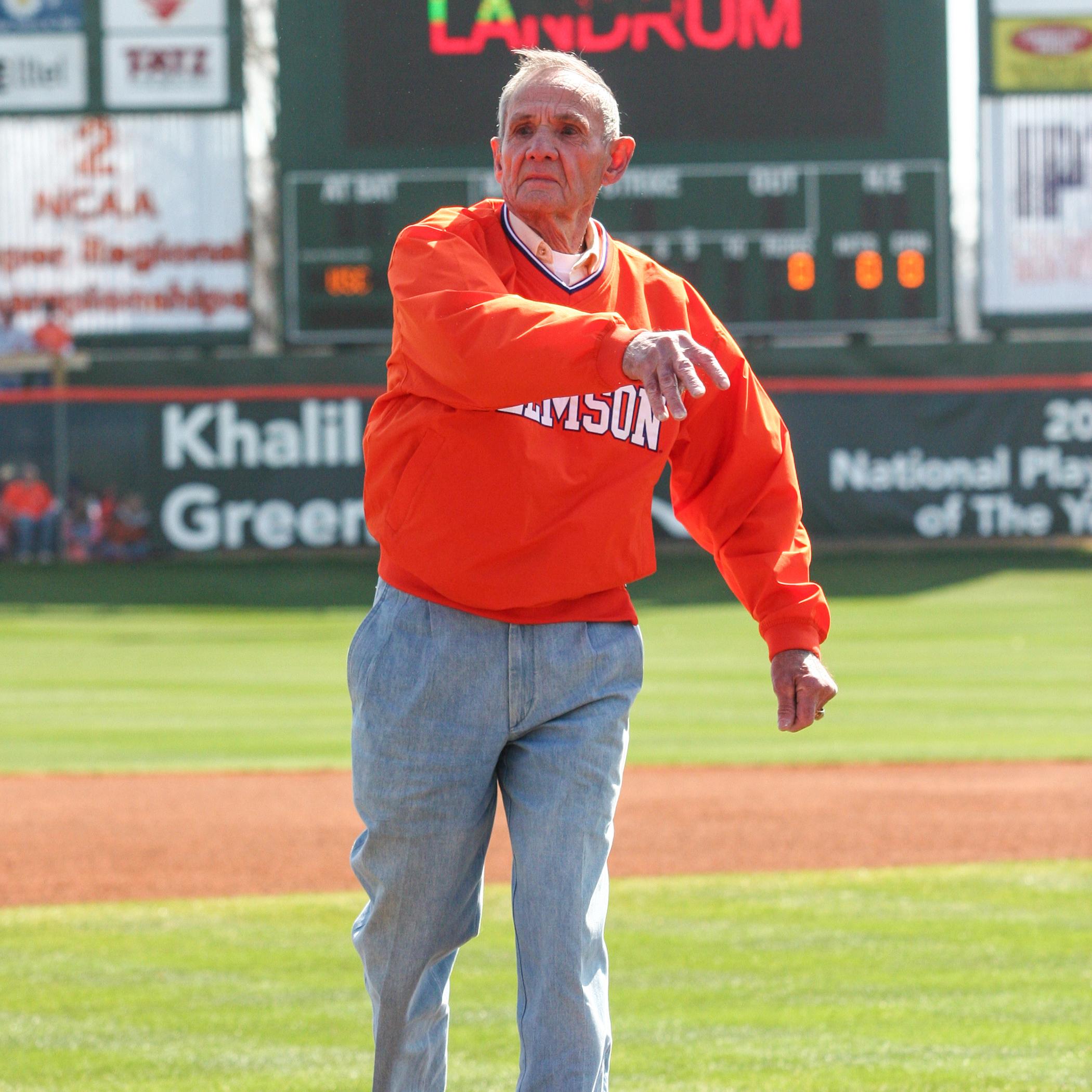 Joe Landrum, Clemson's First Baseball All-American, Passes