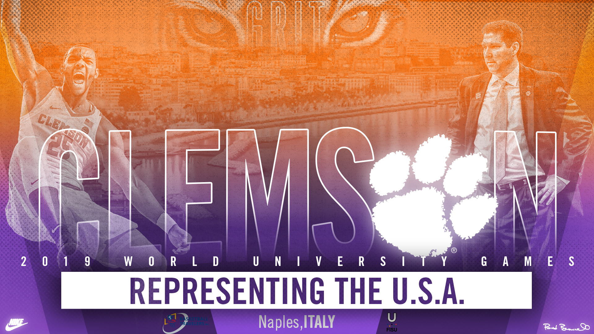 Clemson to Represent USA in World University Games in Italy