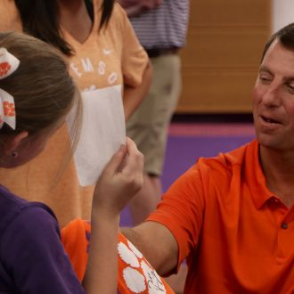 Clemson Welcomes Nearly 20,000 Fans on Football Fan Day