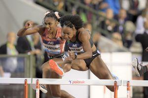 Play video: Former Clemson Standout Brianna McNeal Wins Diamond League 100mH Finals
