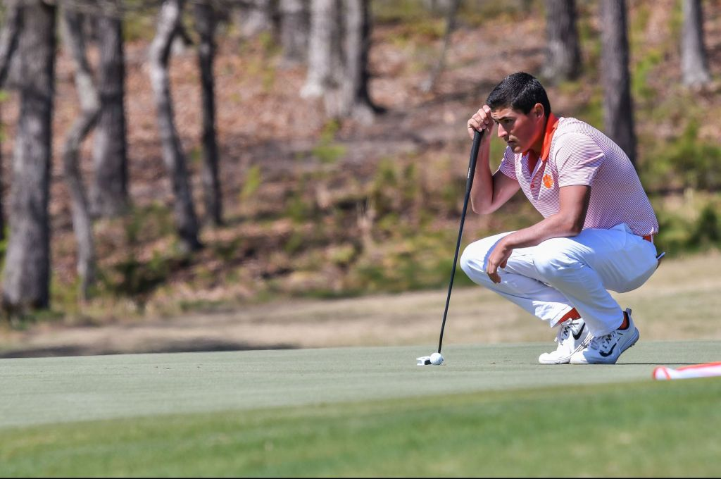 Clemson Sixth Place after Two Rounds of ACC Men's Golf