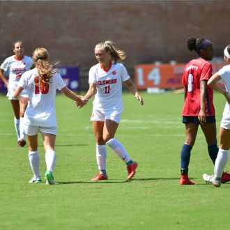 Clemson Extinguishes Flames in 5-0 Win