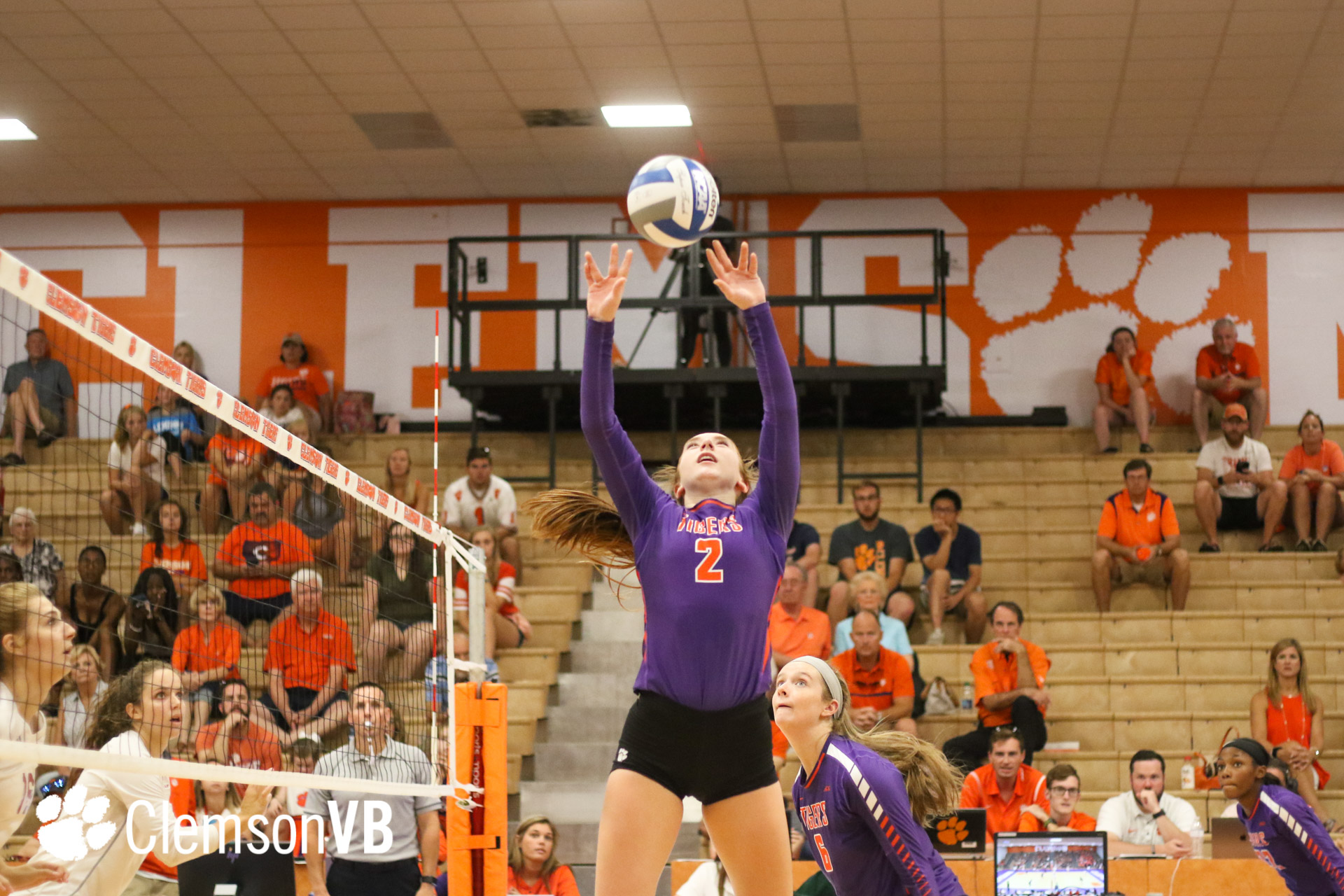 Volleyball Goes 3 0 To Win Big Orange Bash Thomas Named Tournament Mvp Clemson Tigers Official Athletics Site