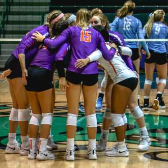 Volleyball Earns Runner-Up Status at Sugar Bowl Classic