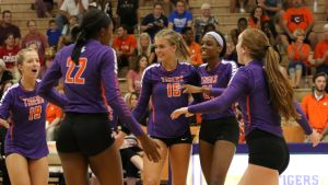 🎥 HIGHLIGHTS: Tigers Sweep Troy Saturday