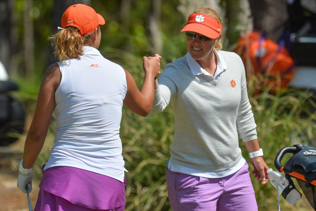 Clemson Athletics Podcast featuring women's golf coach Kelley Hester