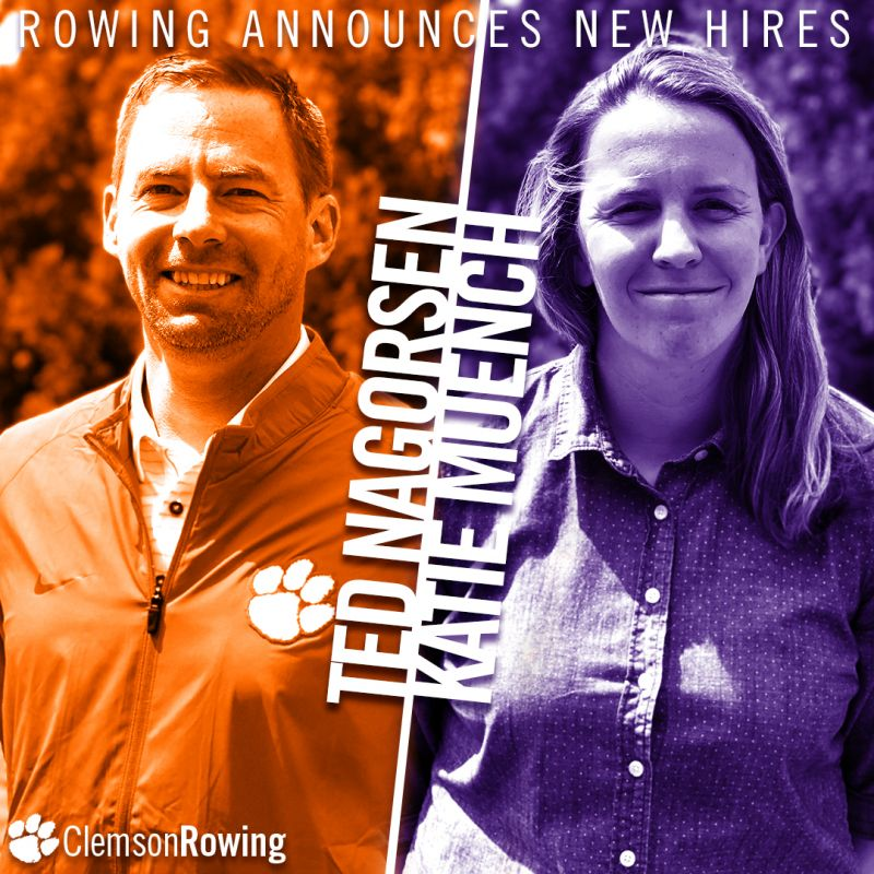 Rowing Adds Nagorsen, Muench to Staff