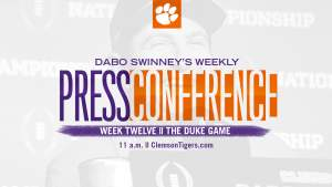 Dabo Swinney Press Conference || The Duke Game