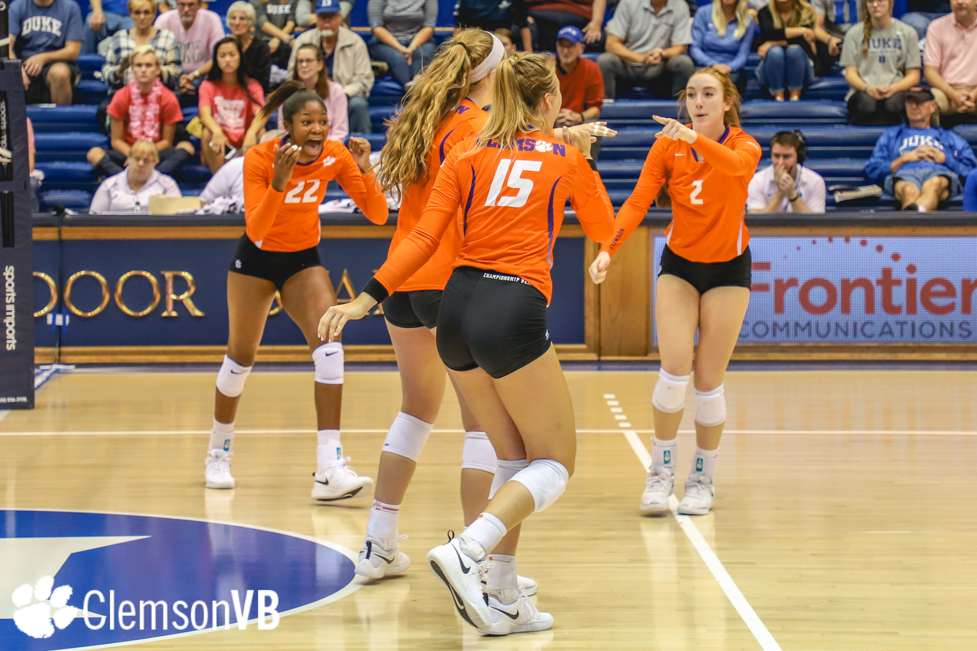 Volleyball Falls At Duke Friday Clemson Tigers Official Athletics Site