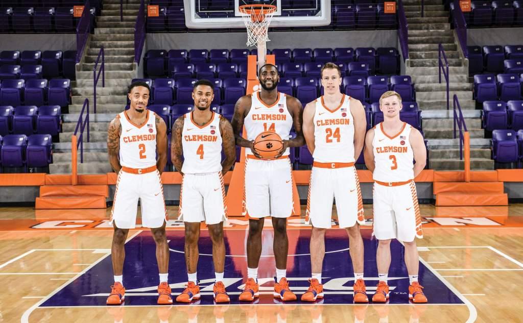 Men's Basketball 2018-19 Seniors