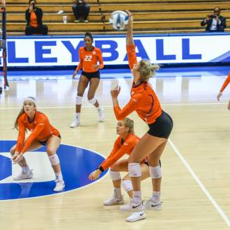 Volleyball Falls at Duke Friday