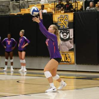 Volleyball Set for Midweek Matchup at Georgia Tech Wednesday