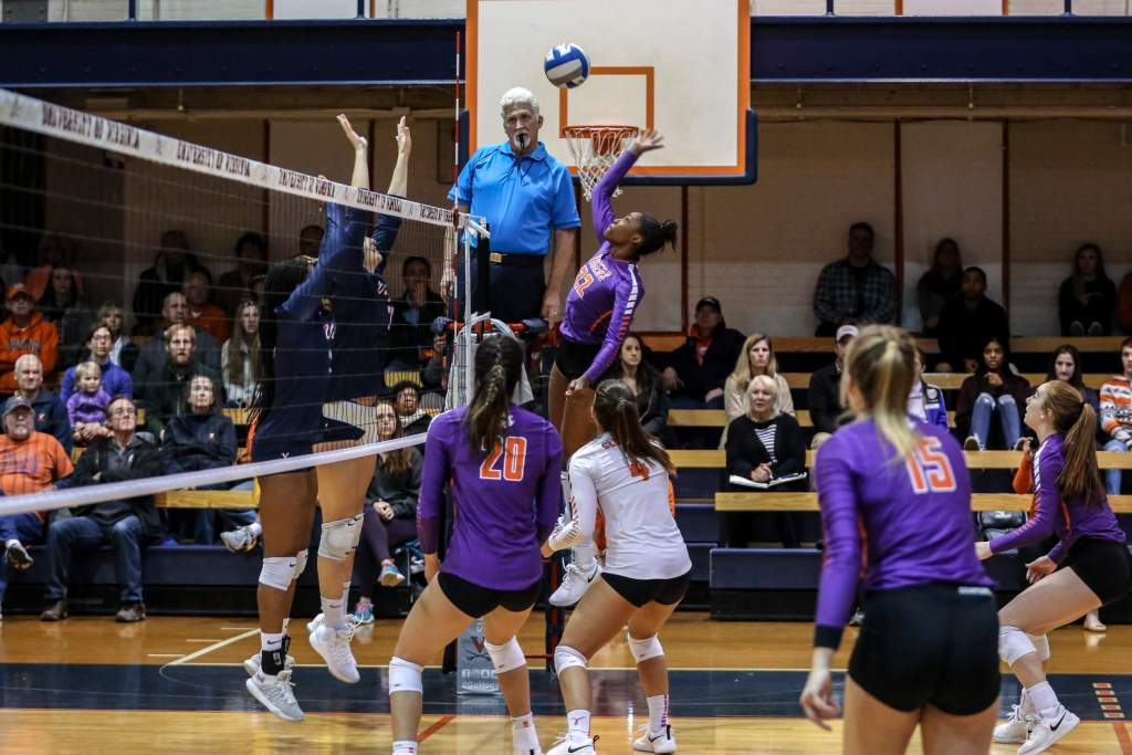 Volleyball Sweeps Virginia Saturday