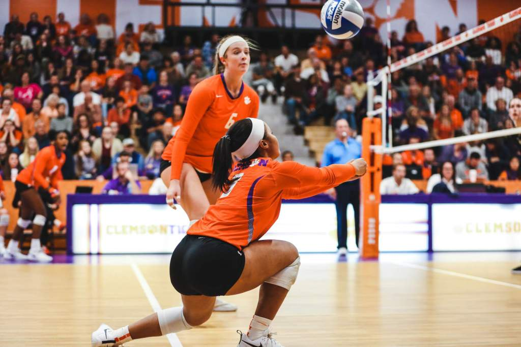 Volleyball Slips 3-1 Against Wake