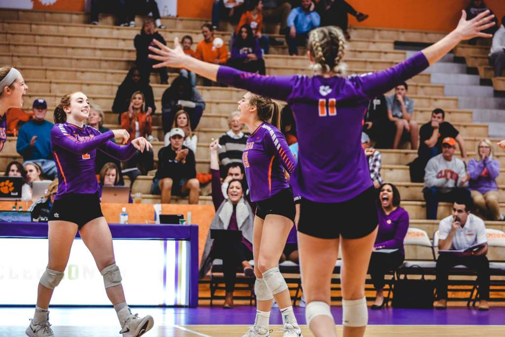 Volleyball Sweeps Alabama A&M; Tigers To Face Radford In Second Round Friday