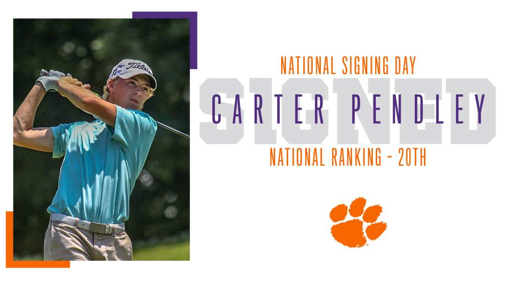 Tigers Sign Two To Letter Of Intent Clemson Tigers Official Athletics Site