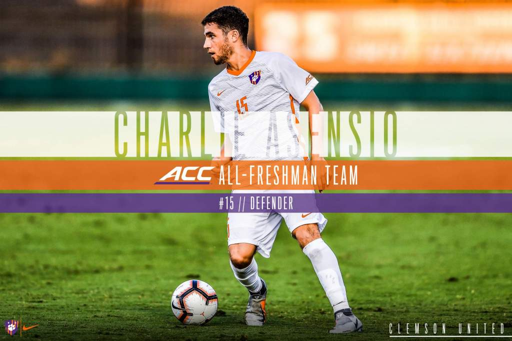 Asensio Earns All-ACC Honors