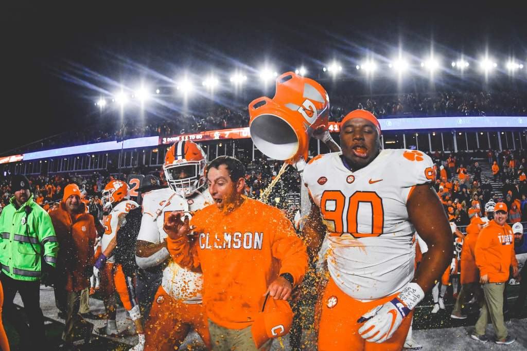 Clemson Claims Atlantic Division Title