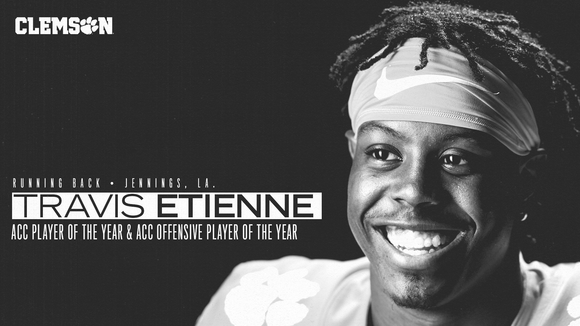 Etienne Named ACC Player of the Year