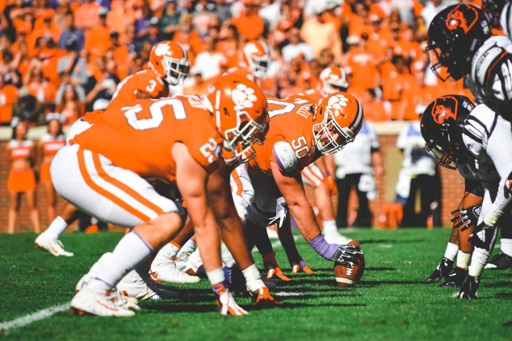 Clemson Offensive Line Selected As Joe Moore Award Semifinalists