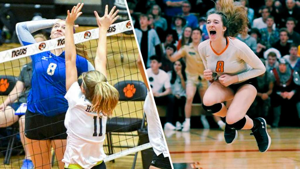 Volleyball Inks Slavik, Clark as 2019 Signees
