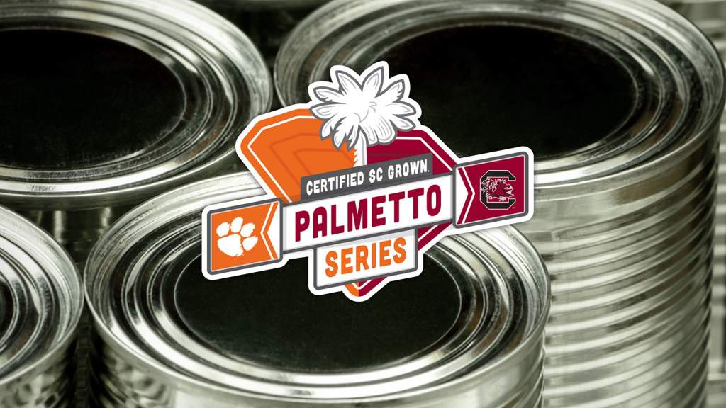 Help Clemson Fight Hunger & Earn a Palmetto Point in Certified SC Grown Palmetto Series Food Drive