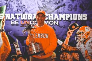 Dabo Swinney Press Conference || The ACC Championship Game