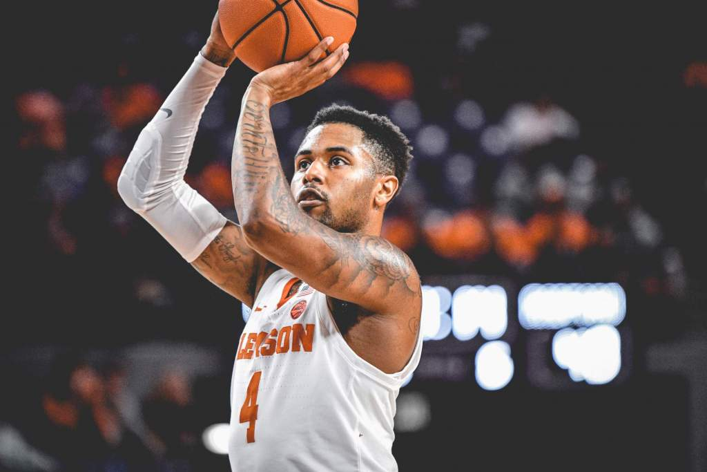 Four Score in Double-Figures as Clemson Tops Radford, 74-66