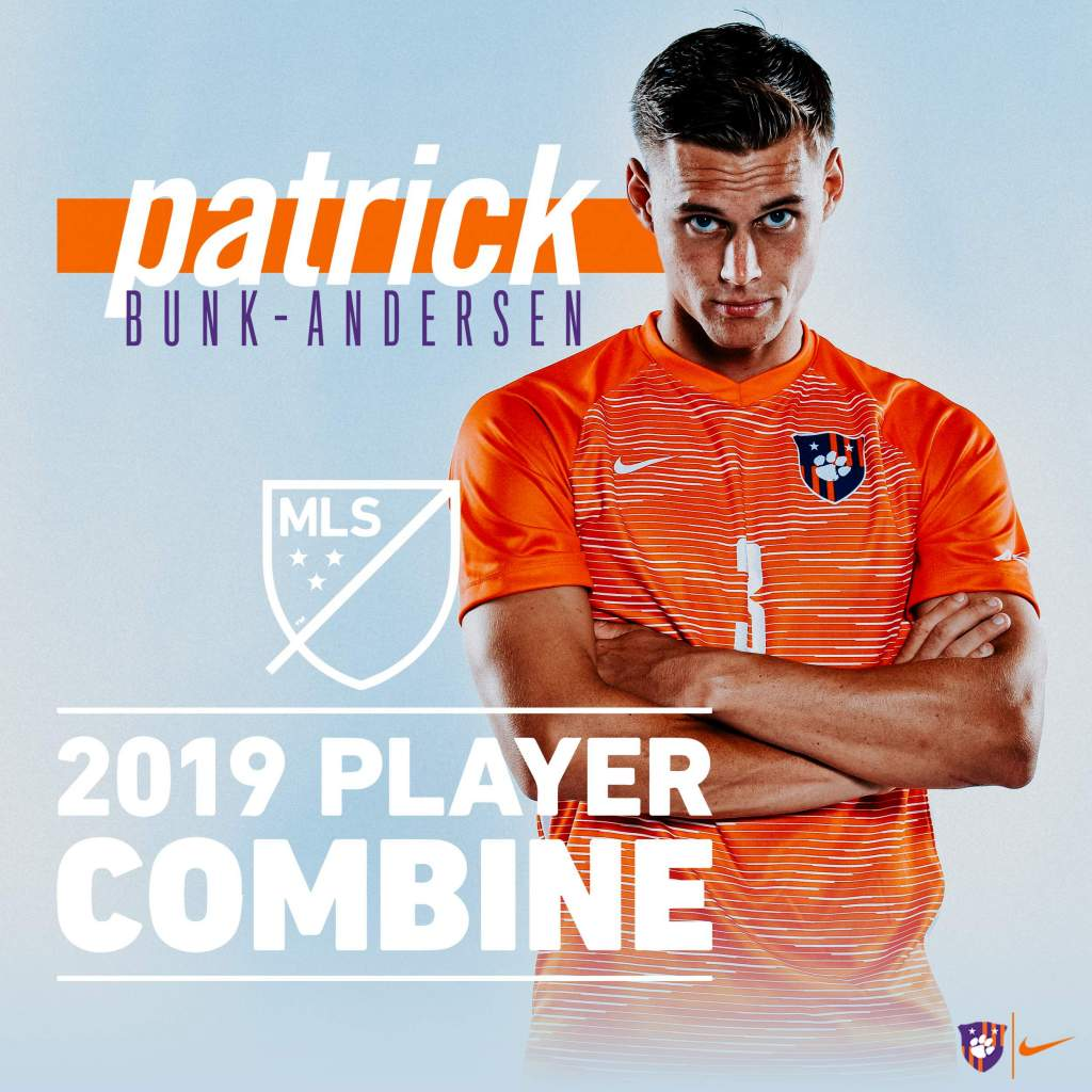 Bunk-Andersen Invited to 2019 MLS Combine