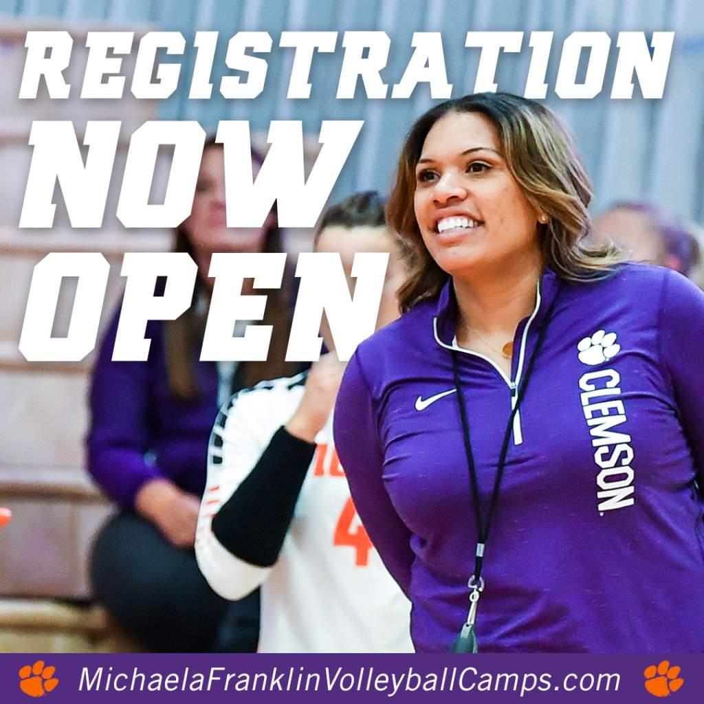 Registration for Michaela Franklin Volleyball Camps Now Open