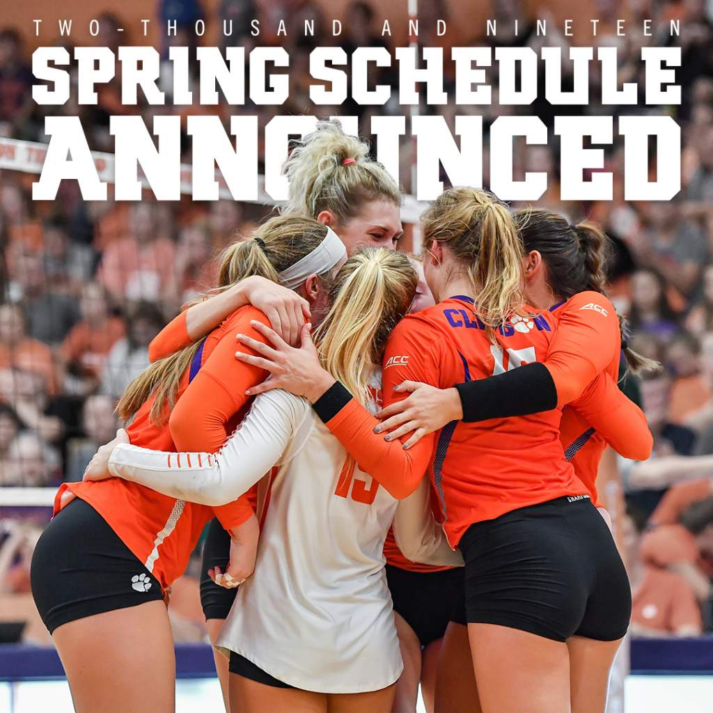 Volleyball Announces 2019 Spring Schedule