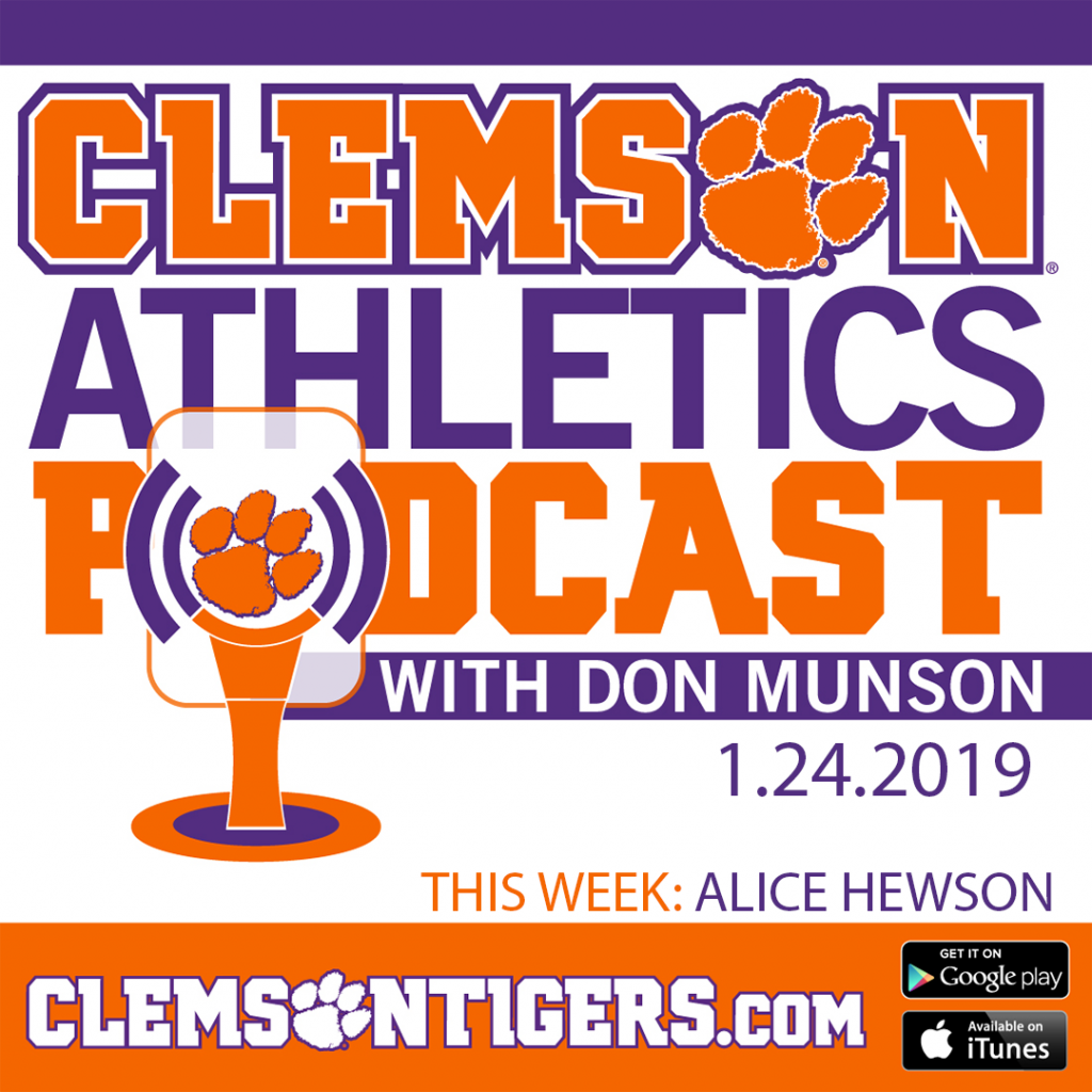 Clemson Athletics Podcast 1.24.2019 with women's golfer Alice Hewson