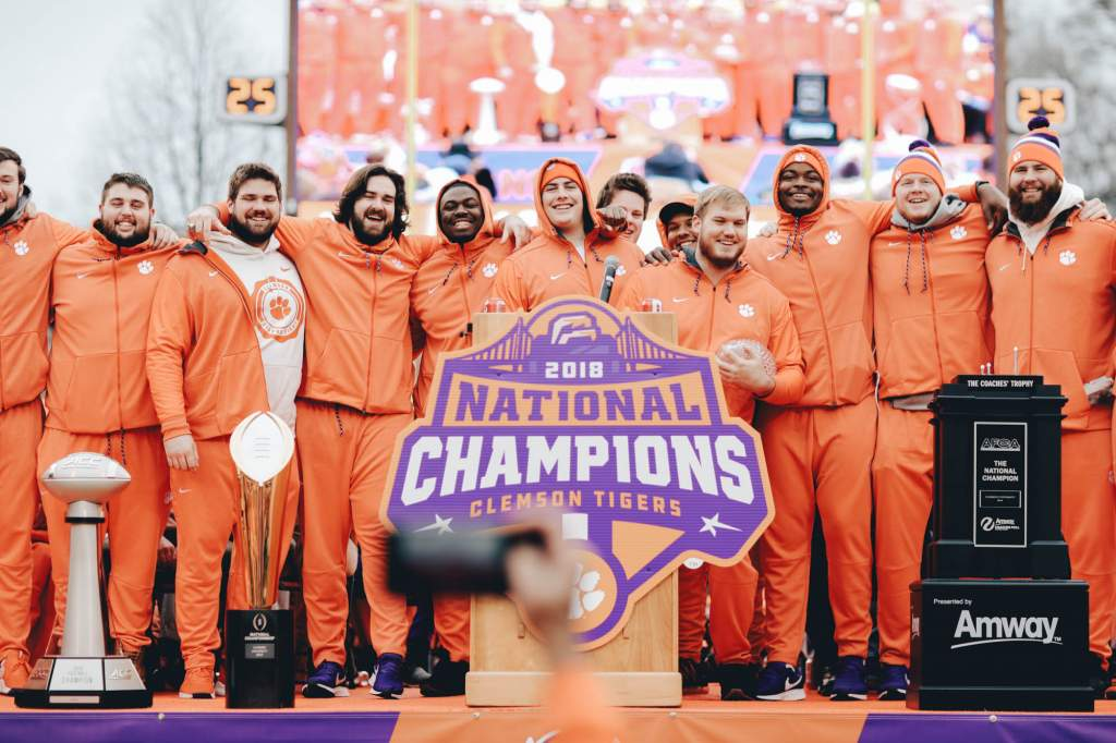 "Clemson Earns ESPY Nomination For ""Best Team"""