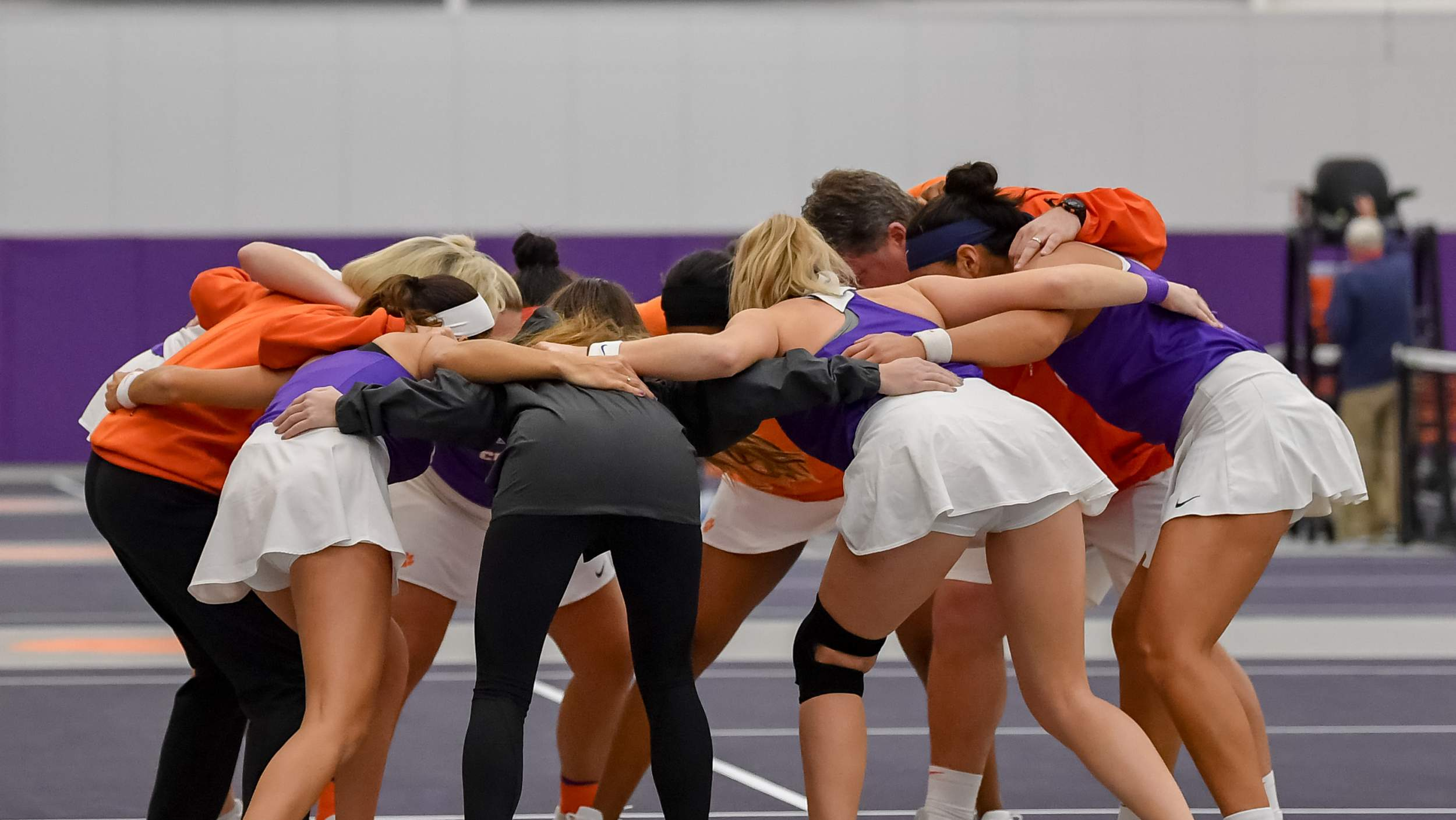 Tigers Win Two in Debut at Duckworth Family Tennis Facility