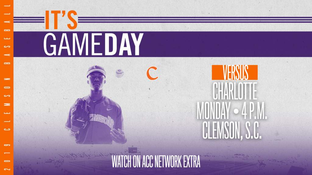 GAMEDAY – Charlotte at Clemson