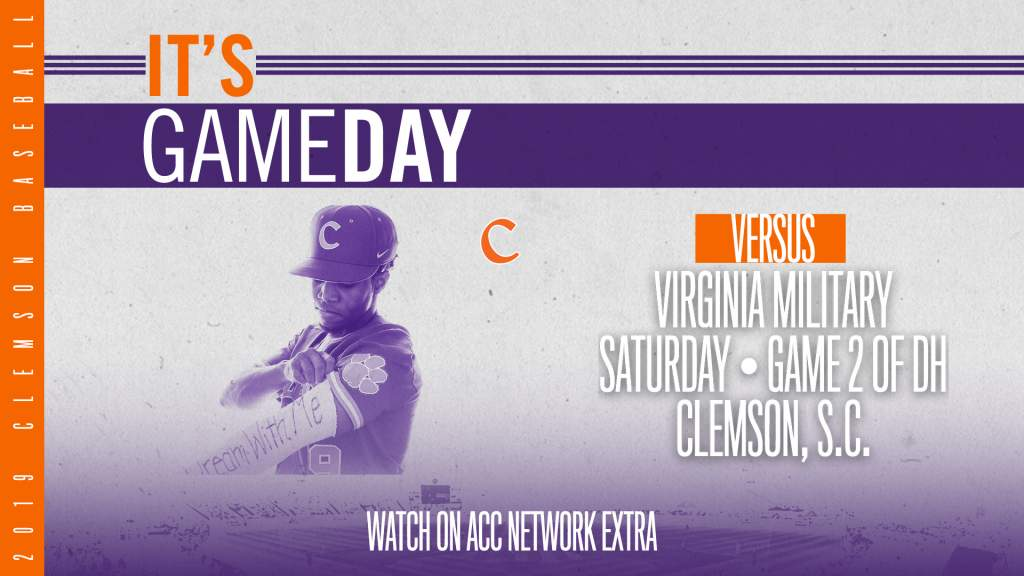 GAMEDAY – Virginia Military at Clemson