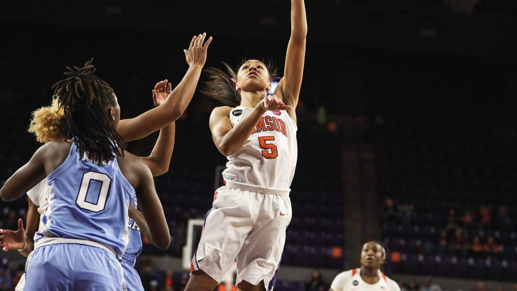 Tigers Edged By Tar Heels On Sunday