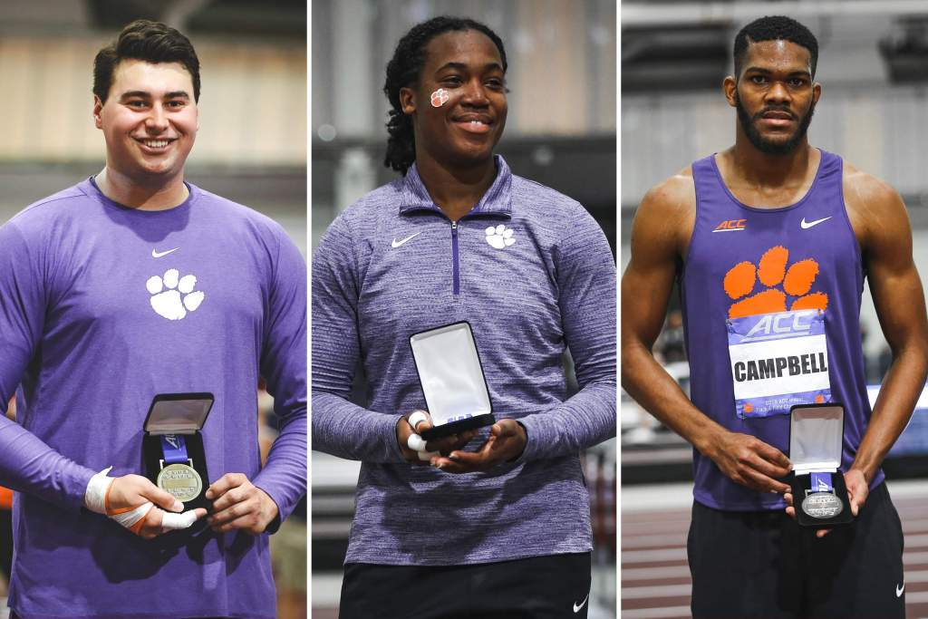 Tigers Rack Up All-ACC Honors Saturday