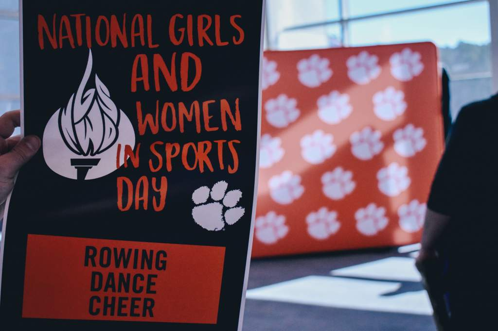 National Girls & Women in Sports Day at Clemson