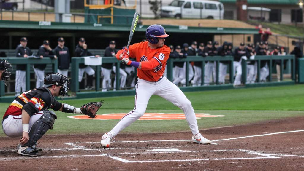 Greene's Homer Propels Tigers Over VMI 8-6 in Game 1 of Doubleheader