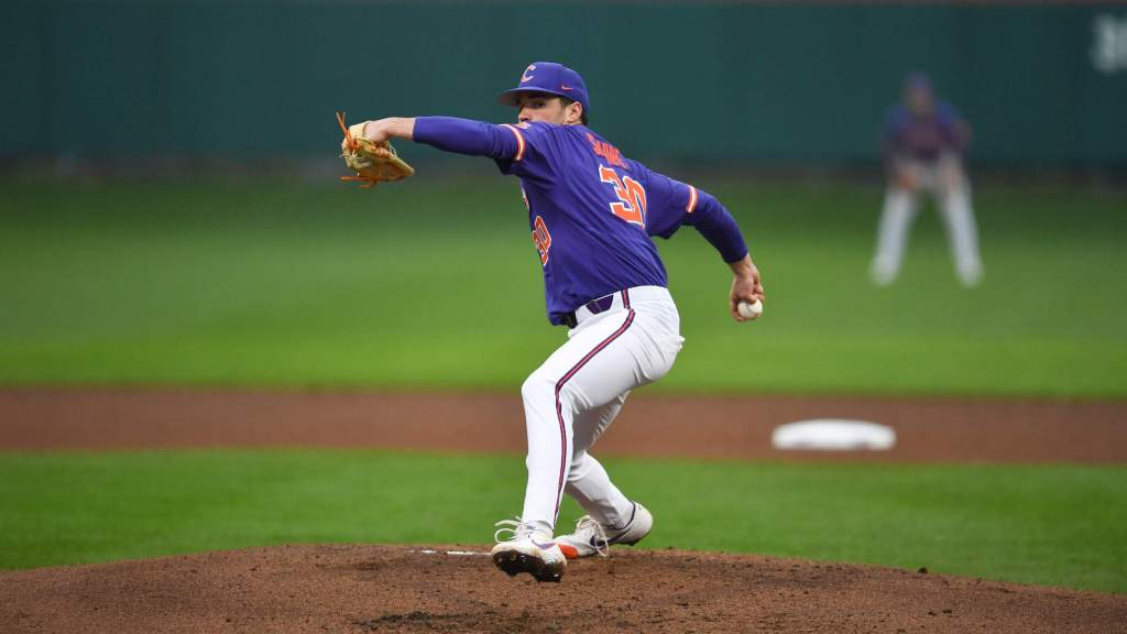 Sharpe Stifles Keydets in Clemson's 8-2 Win in Game 2 of Doubleheader